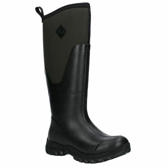 Muck Boots MB Arctic Sport II Tall Wellington Boots in Black/Moss