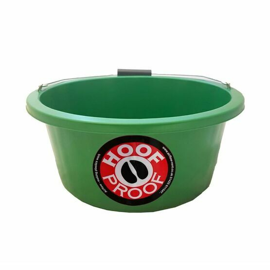 Mitchell Hoof Proof Feed Bucket - Green