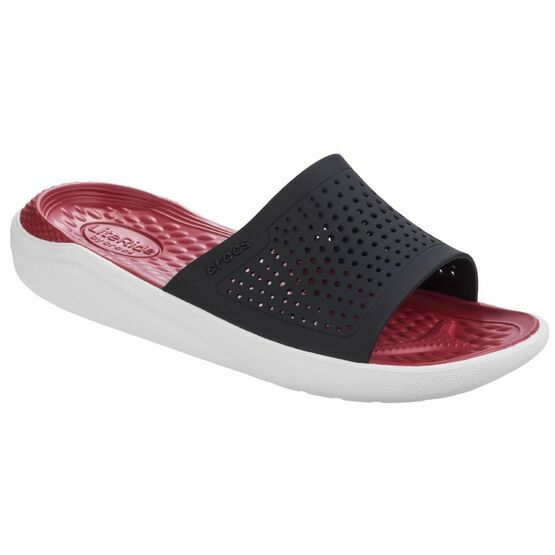 Crocs Literide Clog (Unisex) Slip On in Black/White