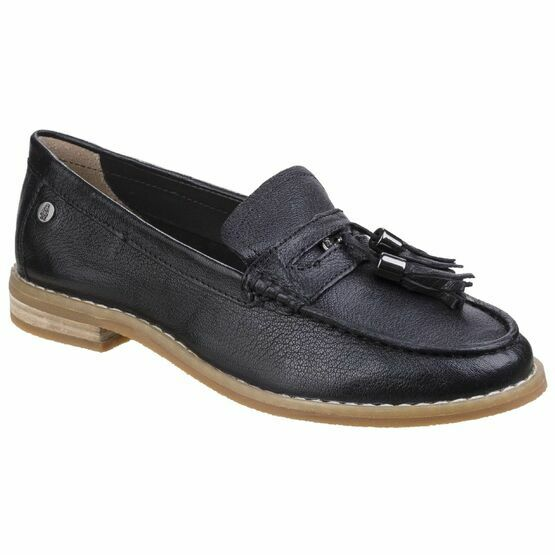 Hush Puppies Chardon Penny Loafer in Black