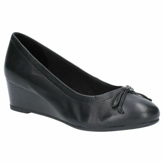 Hush Puppies Morkie Charm Slip On Shoe in Black
