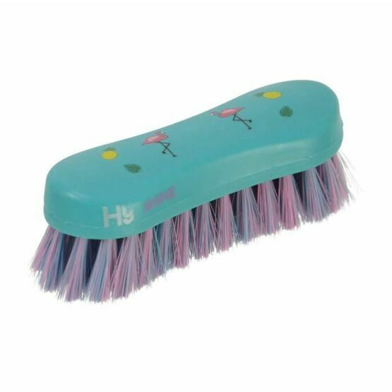 HyShine Flamingo Horse Face Brush - Teal/Provence Blue