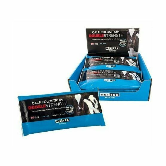 Nettex Calf Colostrum Double Strength Protein Supplement