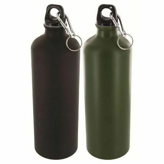 Highlander 1 Litre Aluminium Bottle - Green (Single)