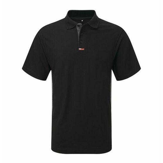 Castle TuffStuff Polo Shirt - Black