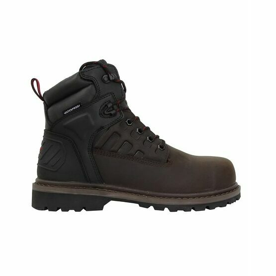 Hoggs Hercules Safety Lace-Up Boots - Brown