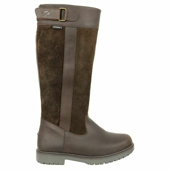 HOGGS OF FIFE CLEVELAND W/P BOOT DARK BROWN