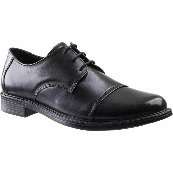 Amblers Bristol Lace Up Shoe in Black