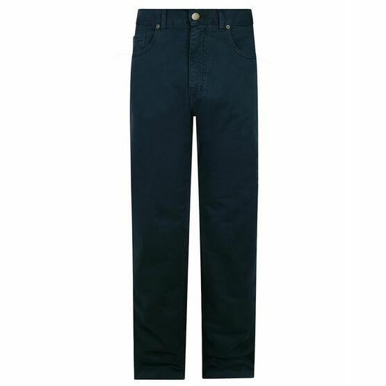 Hoggs of Fife Dingwall Cotton Stretch Jeans in Navy