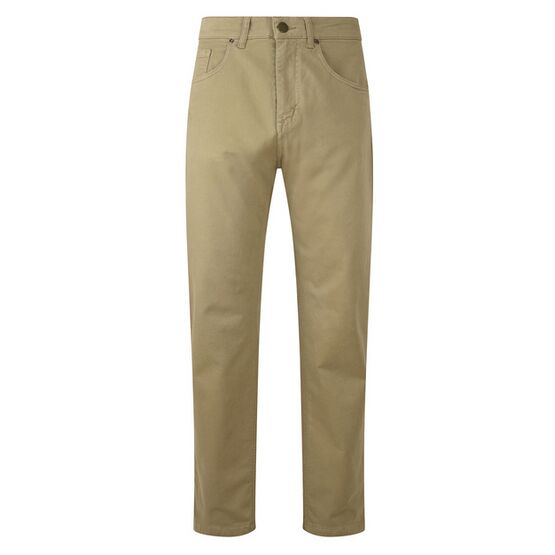 Hoggs of Fife Dingwall Cotton Stretch Jeans in Stone