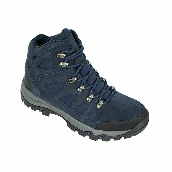 Hoggs of Fife Nevis Waterproof Hiking Boots in Navy