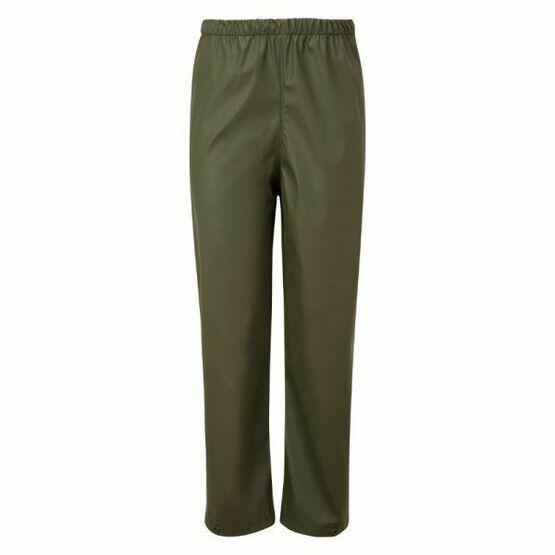 Castle Clothing Child's Splashflex Trouser in Olive Green
