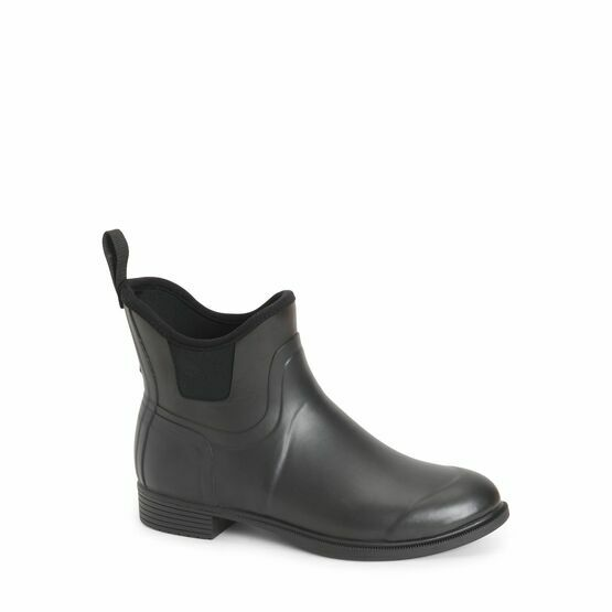 Muck Boots Derby Equestrian Ankle Boot in Black