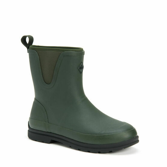Muck Boots Originals Pull-On Short Boot in Moss