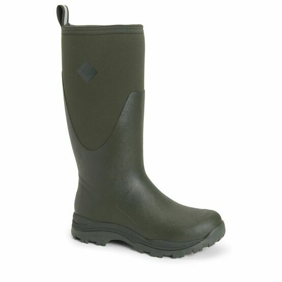 Muck Boots Arctic Outpost Tall Wellington Boots in Moss