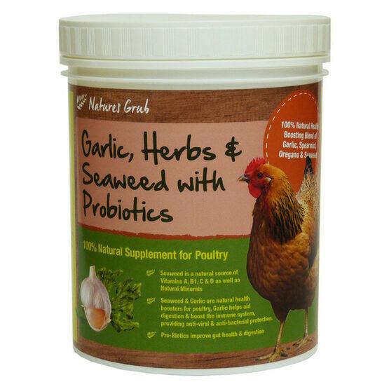 Natures Grub Garlic, Herbs & Seaweed - Tub - 300g