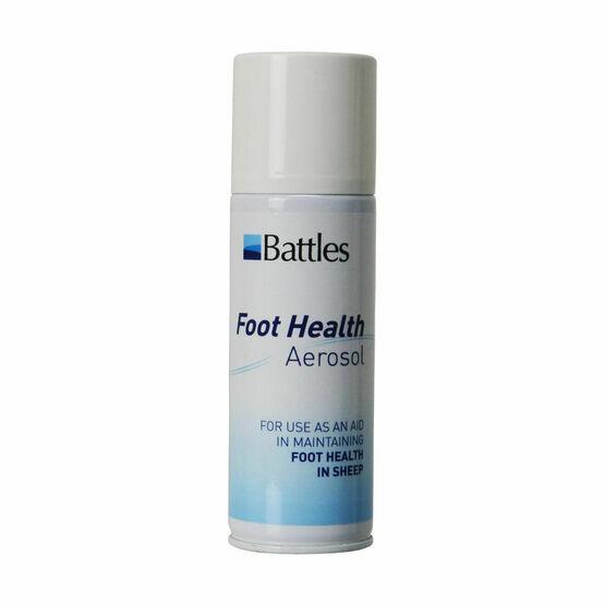 Battles Foot Health Aerosol - 150g