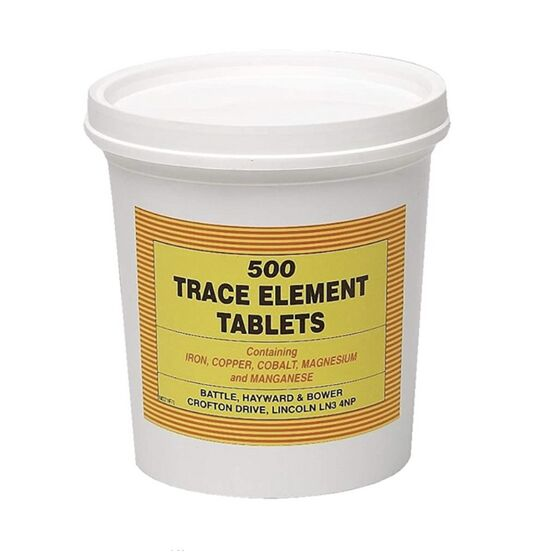Battles Trace Element Tablets
