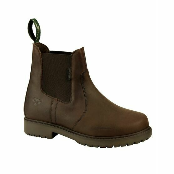 Hoggs Northumberland Ladies Leather Dealer Boots - Dark Brown