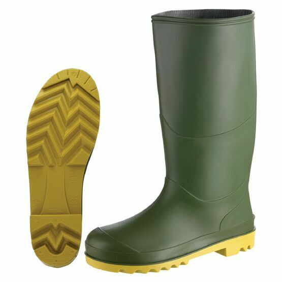 Berwick Youths Border Wellington Boots - Green