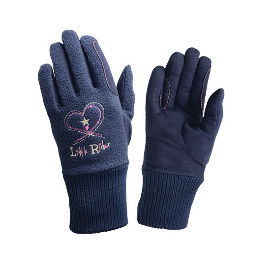 Riding Star Children\'s Winter Gloves - Navy