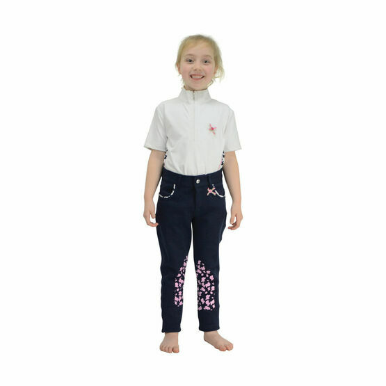Molly Moo Show Shirt by Little Rider - White