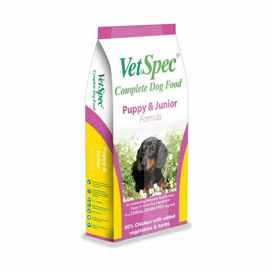 VetSpec Puppy and Junior Formula
