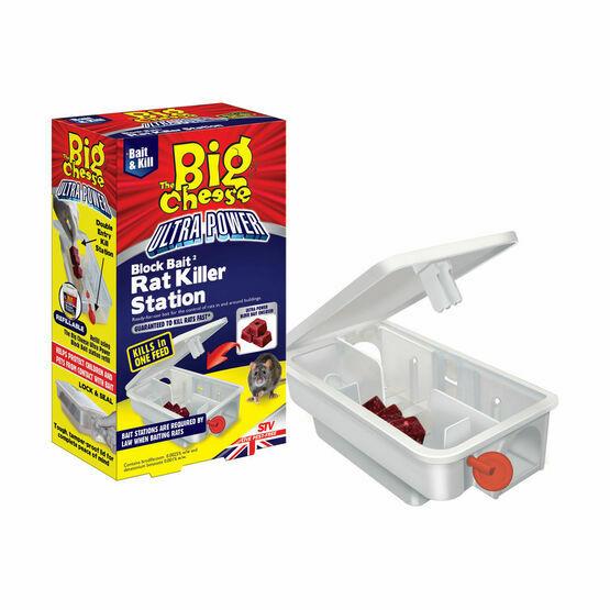 STV Ultra Power Block Bait2 Rat Killer Station (STV566) - 3 x 20g