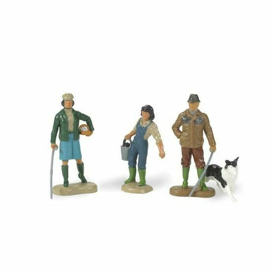 Britains Farming Family & Sheepdog Toy