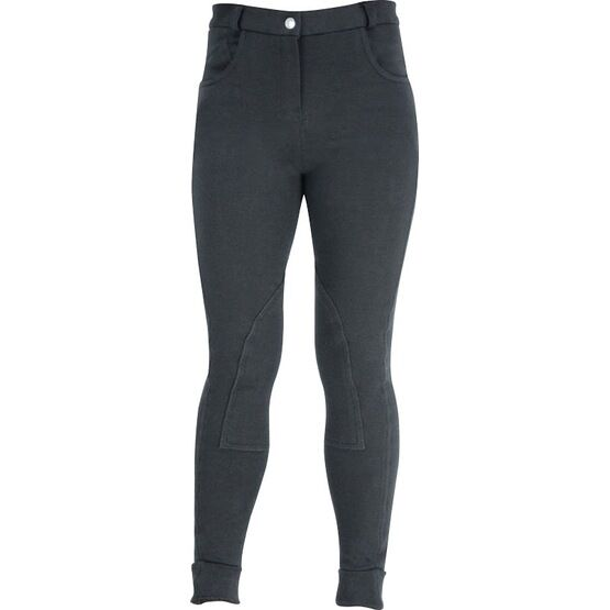HyPERFORMANCE Melton Ladies Jodhpurs - BLACK
