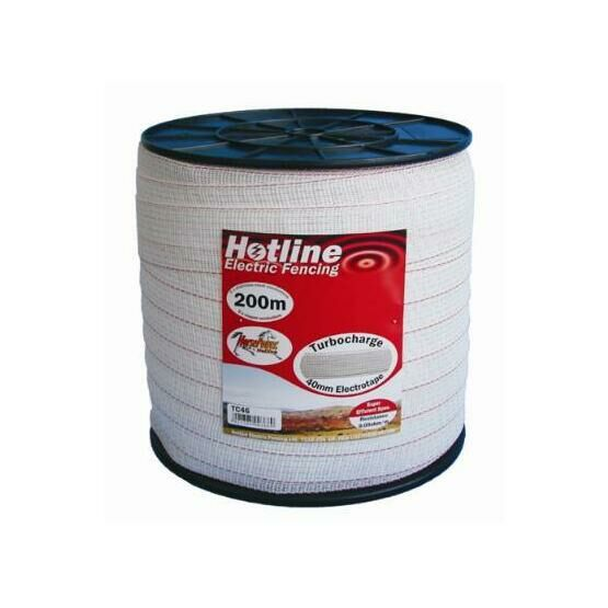 Hotline TC46-2 Turbo Tape 40mm x 200m - White