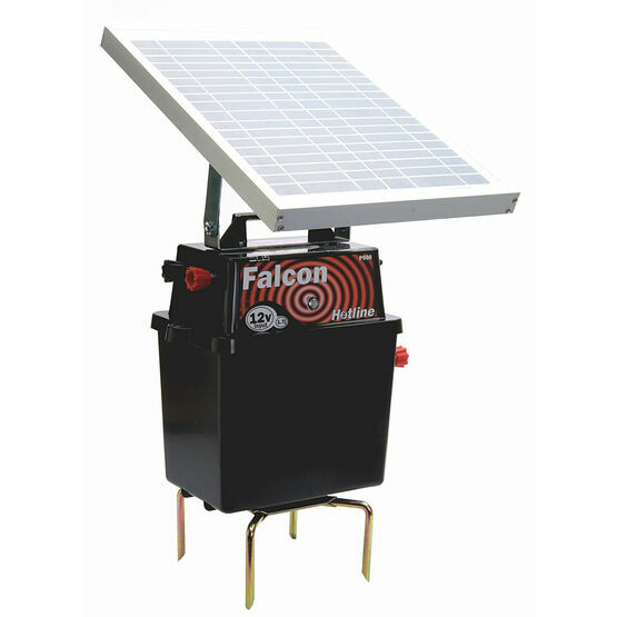 Hotline Falcon Solar Electric Fencing Energiser