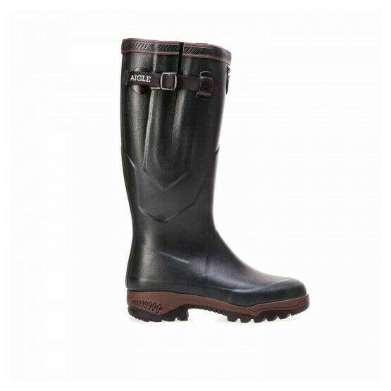Aigle Parcours 2 Iso Wellington Boots - Bronze