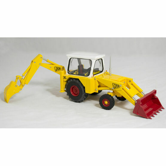 Britains Vintage JCB 3C Mark III Tractor Toy