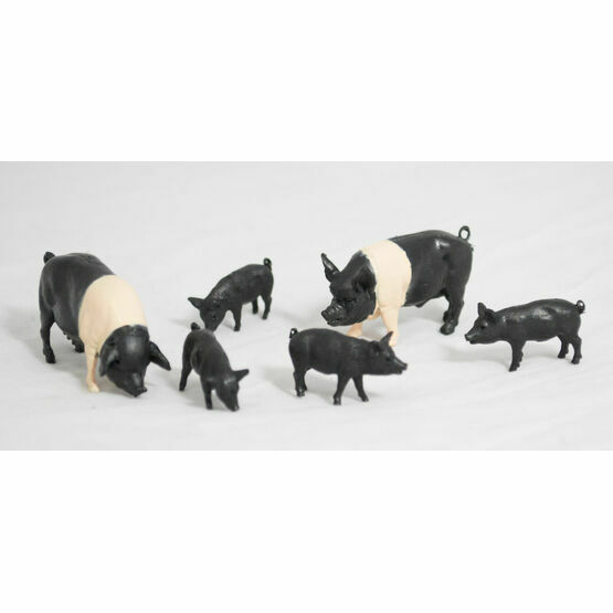 Britains Saddleback Pigs Toy