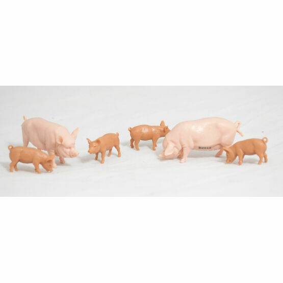 Britains Large White Pigs Toy