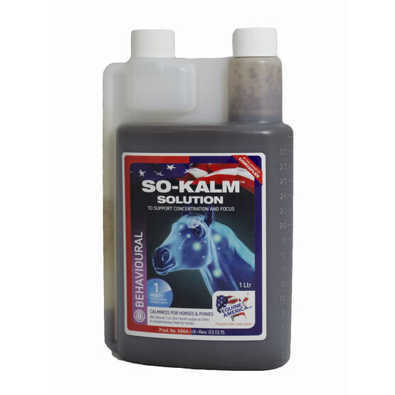 So Kalm Solution Equine America - 946ml