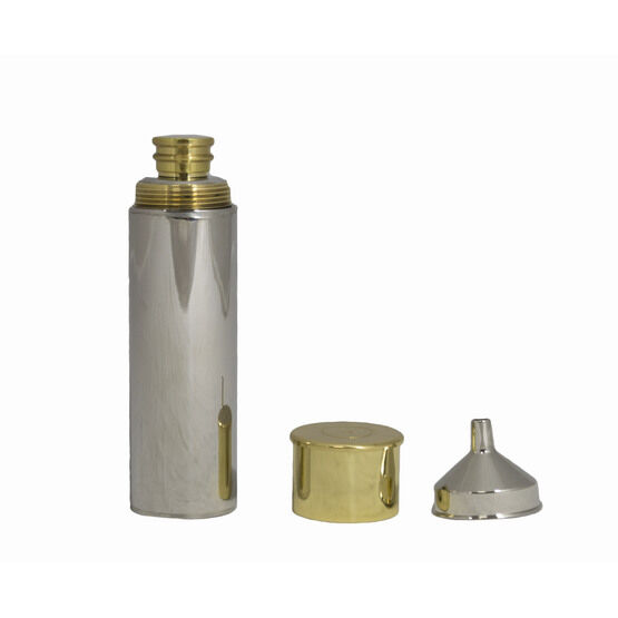 Bisley Cartridge Spirit Flask With Funnel