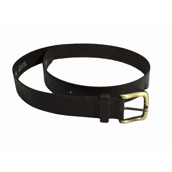 Hoggs Of Fife Leather Belt - Dark Brown