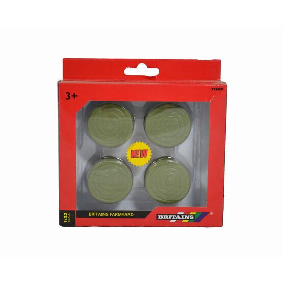 Britains Round Green Bales