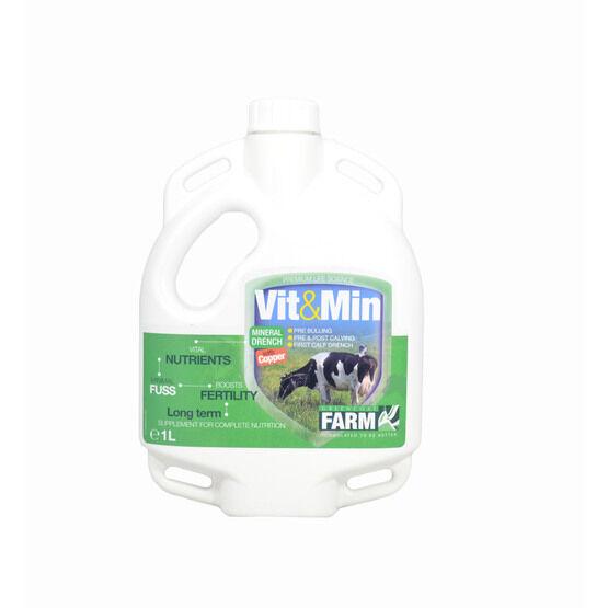 Greencoat Vit&min Cow + Copper 1LTR