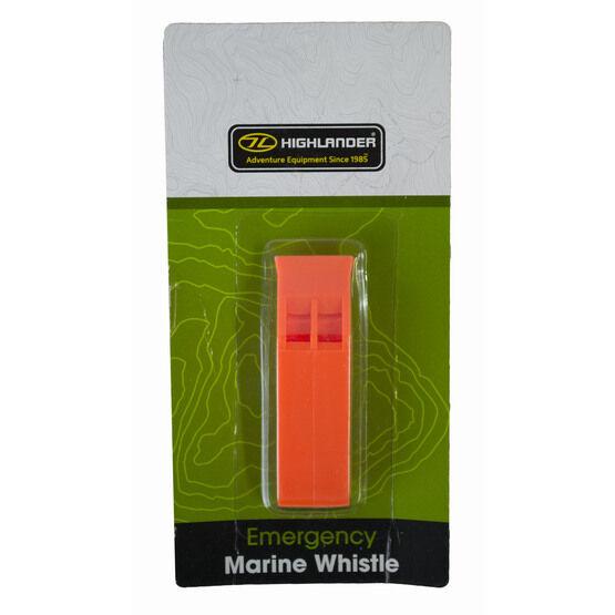 Highlander Emergency Marine Whistle - Orange