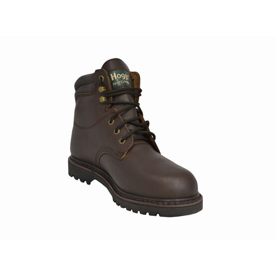Hoggs of Fife Jason Waterproof Leather Work Boots - Brown