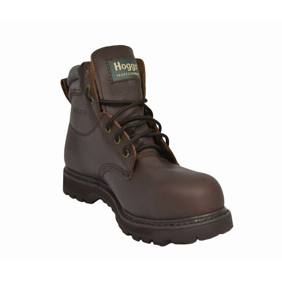 Hoggs Of Fife Tornado WSL Mid-Weight Safety Boots - Crazy Horse Brown
