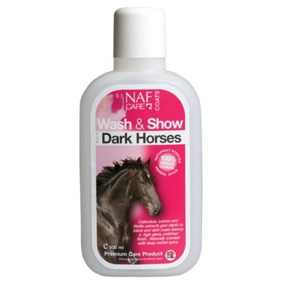 NAF Wash & Show Dark Horses - 500ml