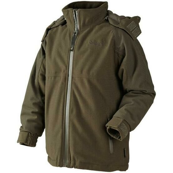 Seeland Eton Kids Waterproof Jacket - Green