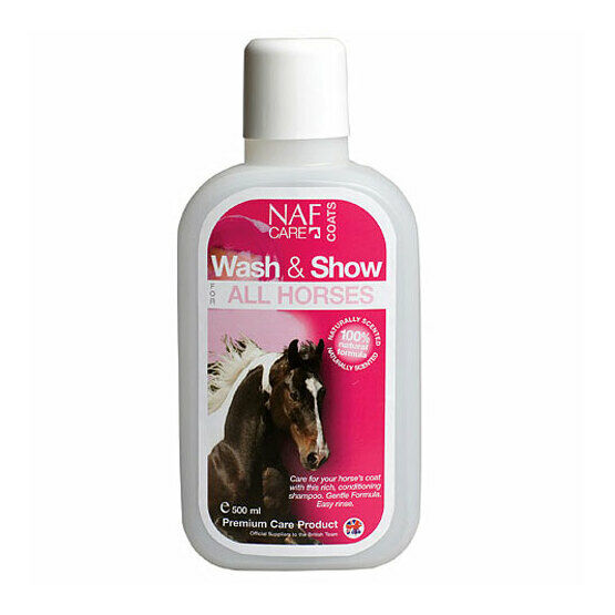 NAF Wash & Show All Horses - 500ml