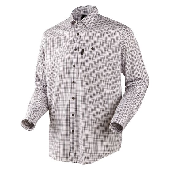 Seeland Preston Merlot Checked Shirt