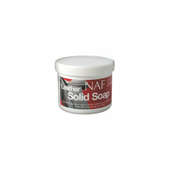 NAF Leather Solid Soap - 450g