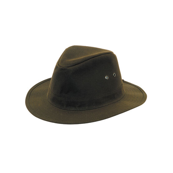 Hoggs Of Fife Waxed Indiana Hat